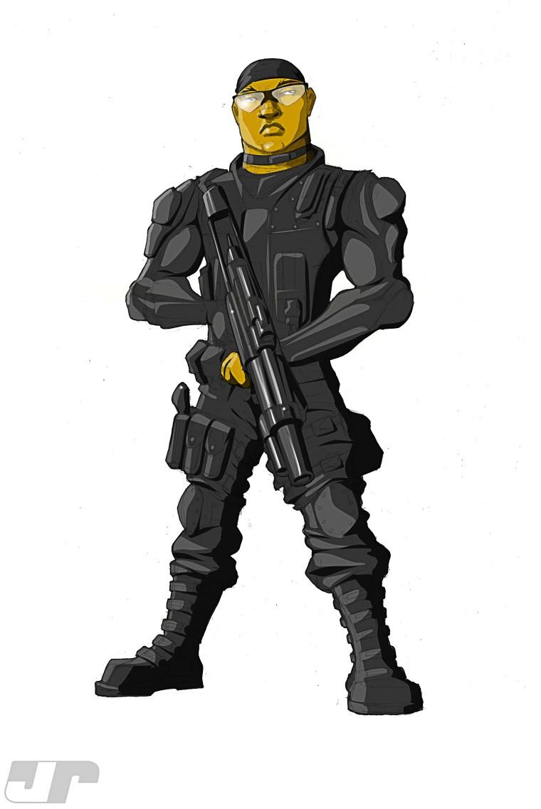 Mercenary in color