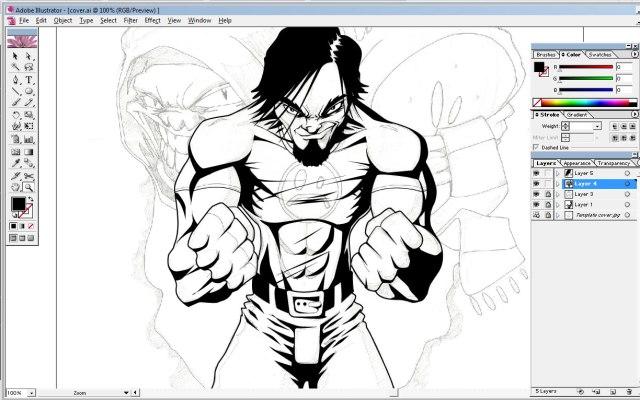 Cover progress