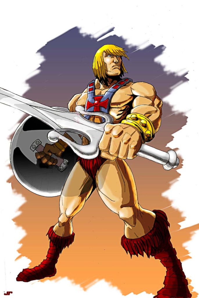 he man color