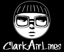 Clarkairlines logo