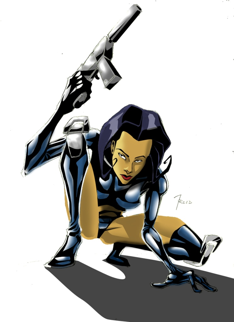 aeon flux color lr2