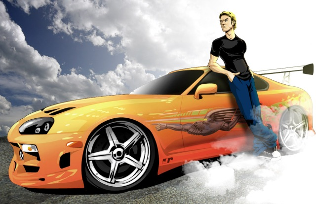 Fast and Furious Paul Walker tribute