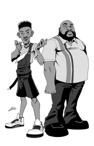 will and Uncle Phil gray