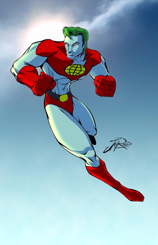 captain planet color